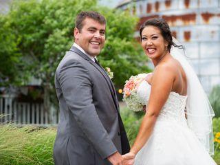 The wedding of Jennifer and Brandon