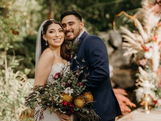 The wedding of Bianca and Samuel