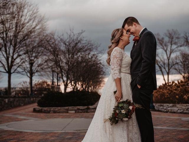 The wedding of Caroline and Matt