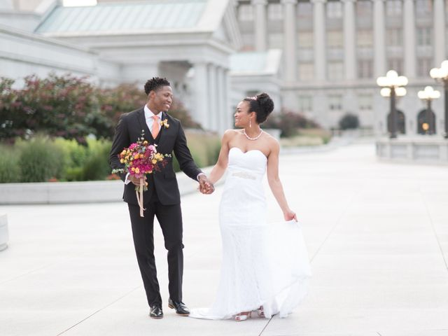The wedding of Mokie and Joe