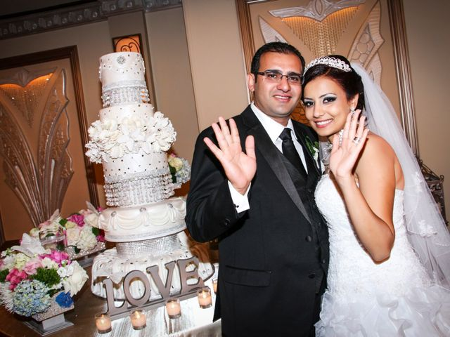 The wedding of Christine and Ehab