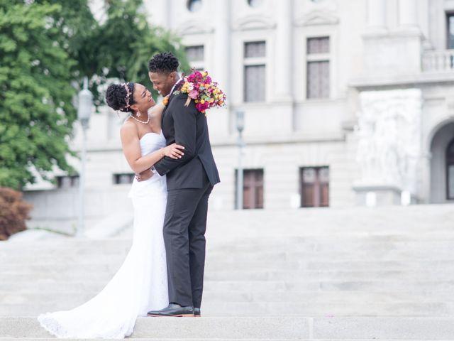 Joe and Mokie's Wedding in Harrisburg, Pennsylvania 1
