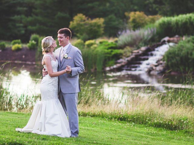The wedding of Sarah and Aaron