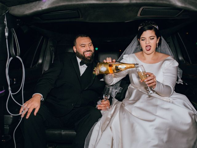 The wedding of Mary and Ben