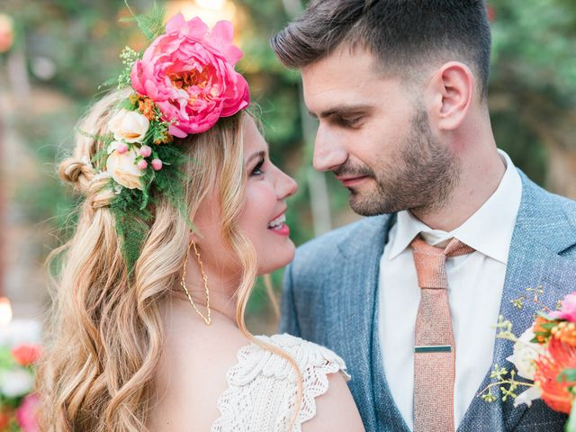 The wedding of Bill and Konstantina