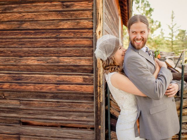 Katie and Chris's Wedding in Larkspur, Colorado 6