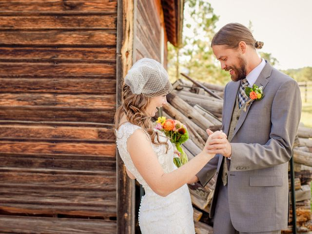 Katie and Chris's Wedding in Larkspur, Colorado 7