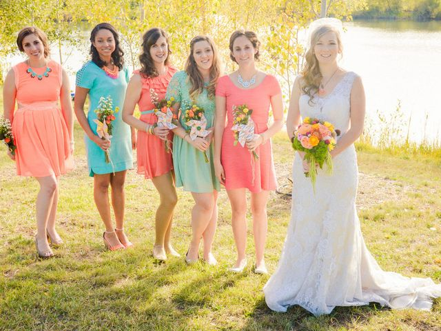 Katie and Chris's Wedding in Larkspur, Colorado 8