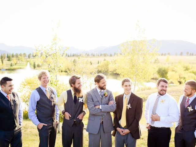 Katie and Chris's Wedding in Larkspur, Colorado 10