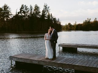 The wedding of Chelsea and Nick