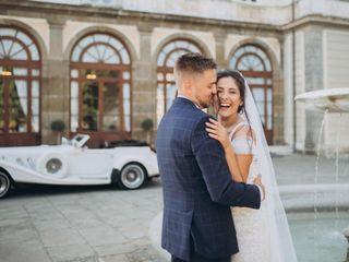 The wedding of Martin and Yarina