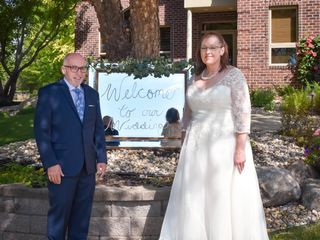 The wedding of Crystal and Fred