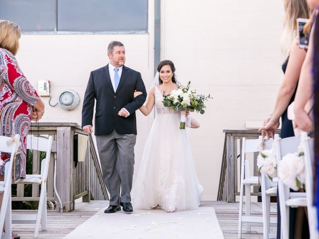 J.D. and Courtney's Wedding in Satellite Beach, Florida 13