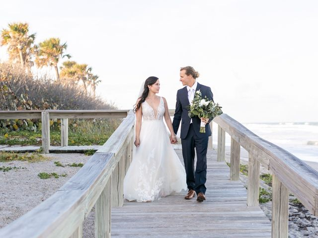 J.D. and Courtney's Wedding in Satellite Beach, Florida 24