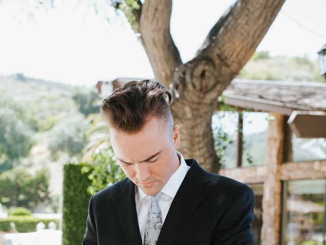 Brandon and Nicole's Wedding in Fallbrook, California 34