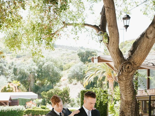 Brandon and Nicole's Wedding in Fallbrook, California 40