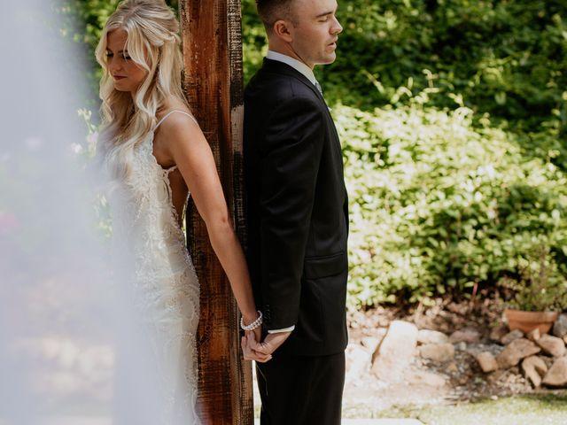 Brandon and Nicole's Wedding in Fallbrook, California 90