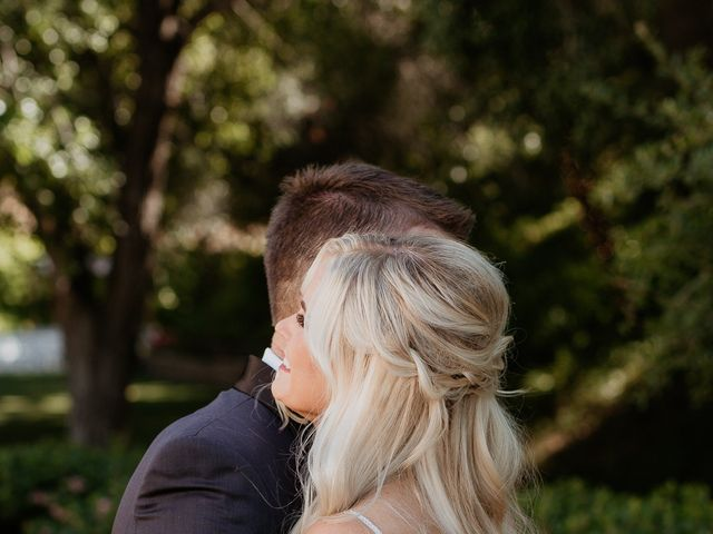 Brandon and Nicole's Wedding in Fallbrook, California 93