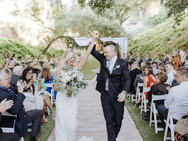 Brandon and Nicole's Wedding in Fallbrook, California 155