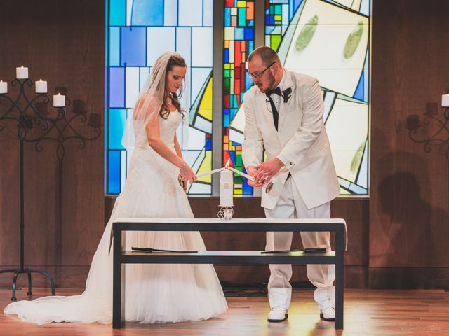 The wedding of Jessica and James