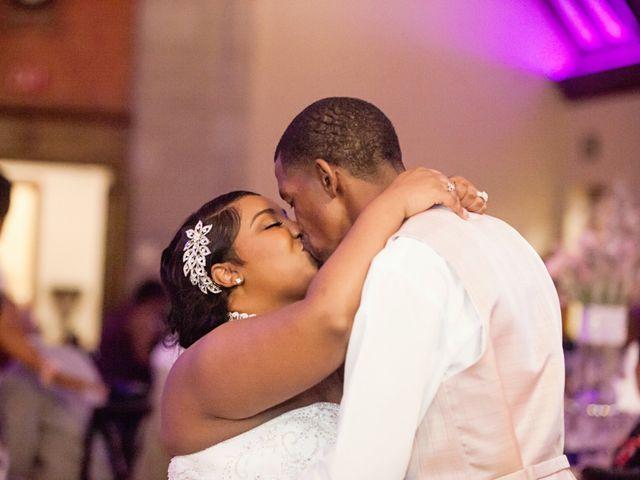 The wedding of Maranda and William