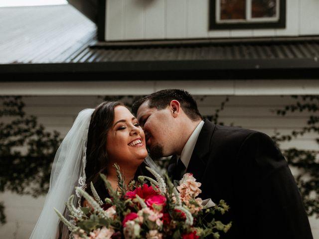 Brandon and Nicky's Wedding in Murphys, California 5