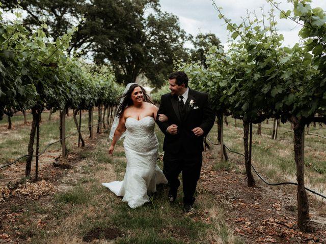 Brandon and Nicky's Wedding in Murphys, California 14