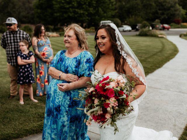 Brandon and Nicky's Wedding in Murphys, California 18
