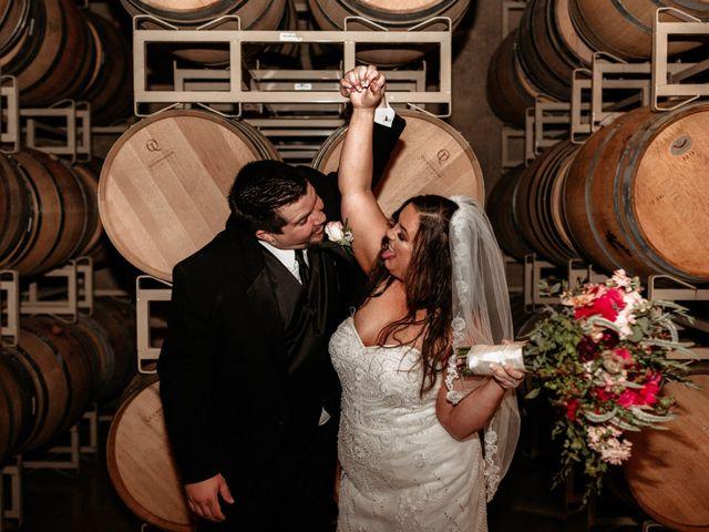 Brandon and Nicky's Wedding in Murphys, California 31