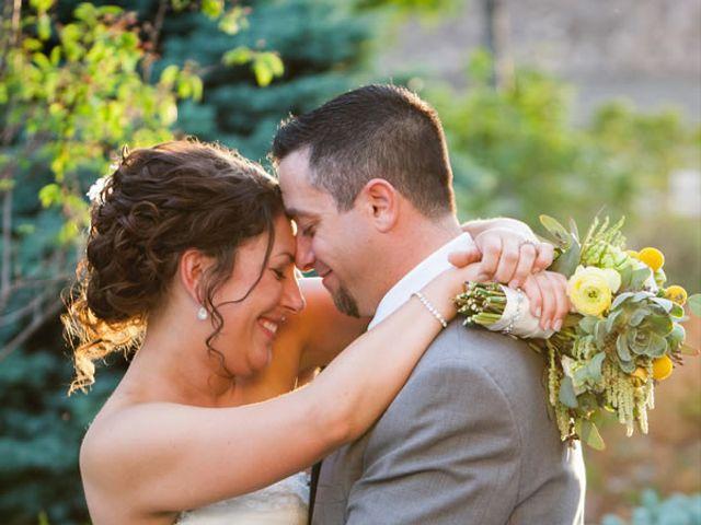 The wedding of David and Beth