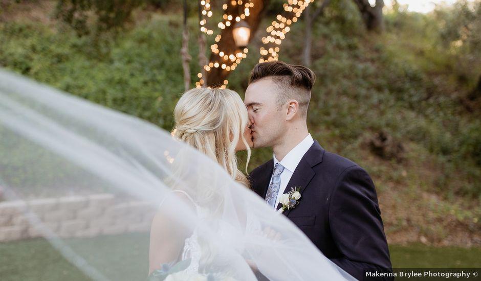 Brandon and Nicole's Wedding in Fallbrook, California