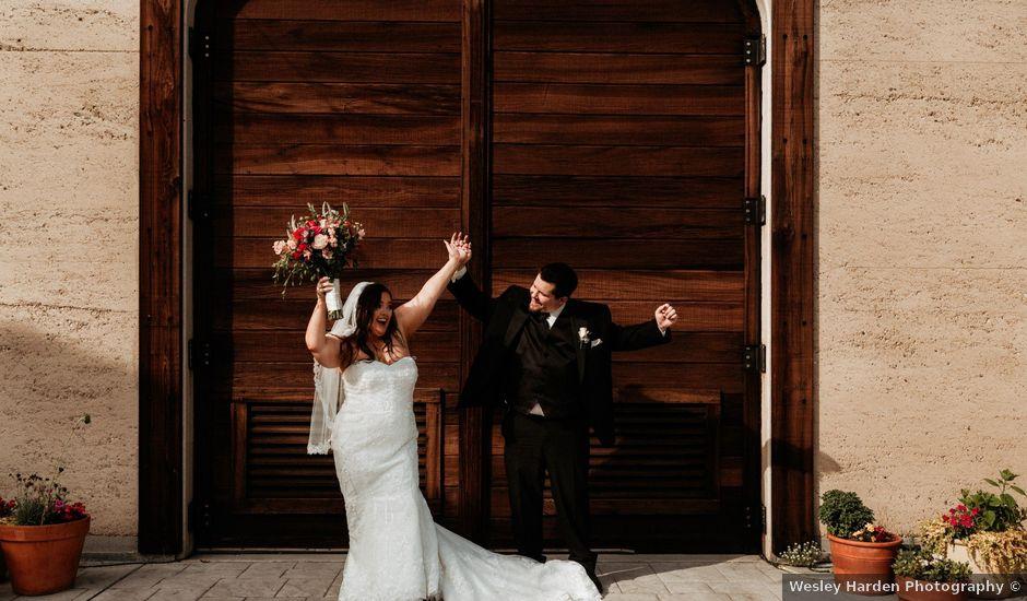 Brandon and Nicky's Wedding in Murphys, California