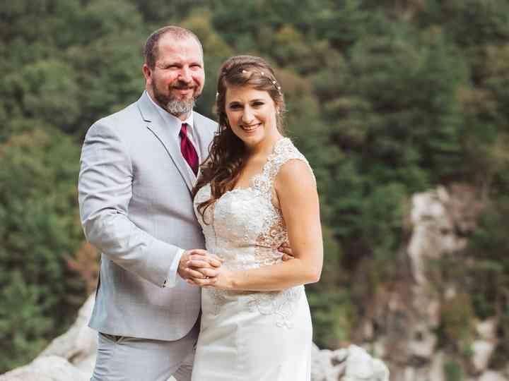 The wedding of Shenna and Jon