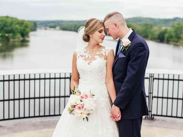 The wedding of Danielle and Jonathan