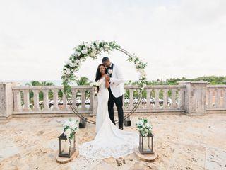 The wedding of Keenan and Crystal