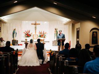 The wedding of Cynthia and Albert 2