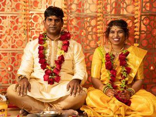 The wedding of Kiran and Arshita