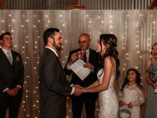 The wedding of Paige and Larry 2