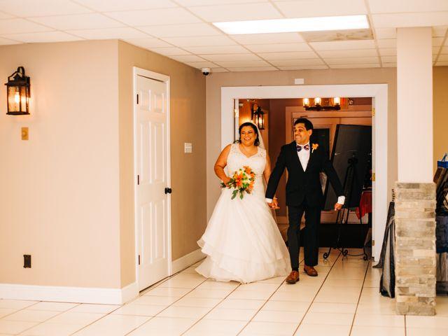 The wedding of Cynthia and Albert