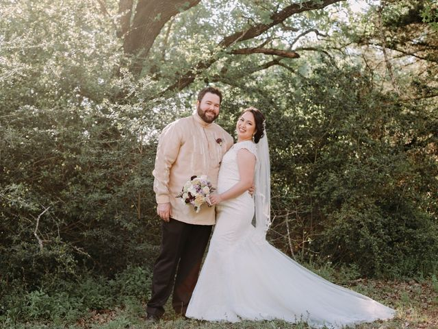 The wedding of Kristin-Jo and David