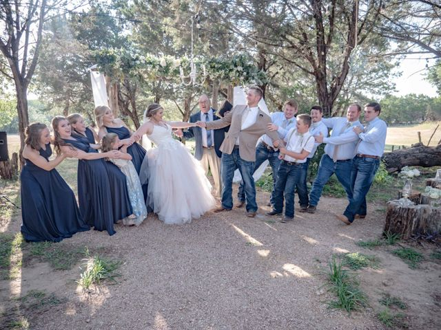 Chase and Talli's Wedding in Lampasas, Texas 4