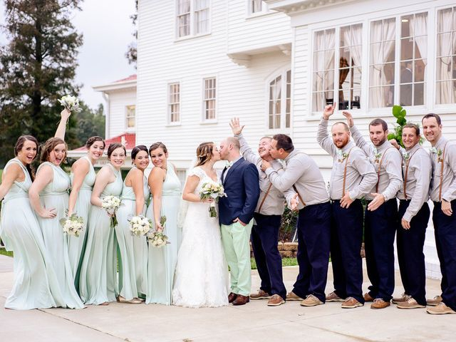 Brittany and Chris's Wedding in Suffolk, Virginia 10