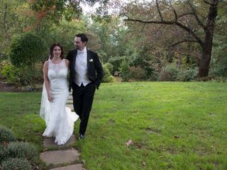 The wedding of Kellie and Paul