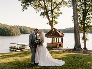 The wedding of Jessie and Evan