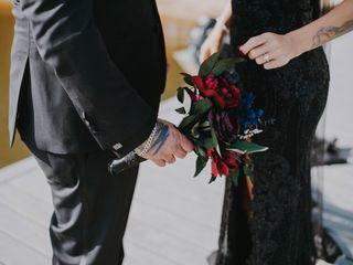 The wedding of Devyn and Josh