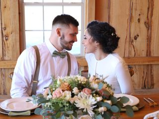 The wedding of Jayra and Justin
