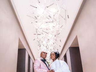 The wedding of Eshell and Orlando 1