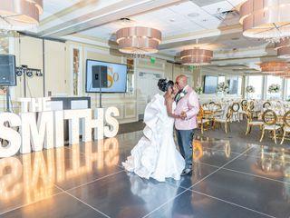 The wedding of Eshell and Orlando