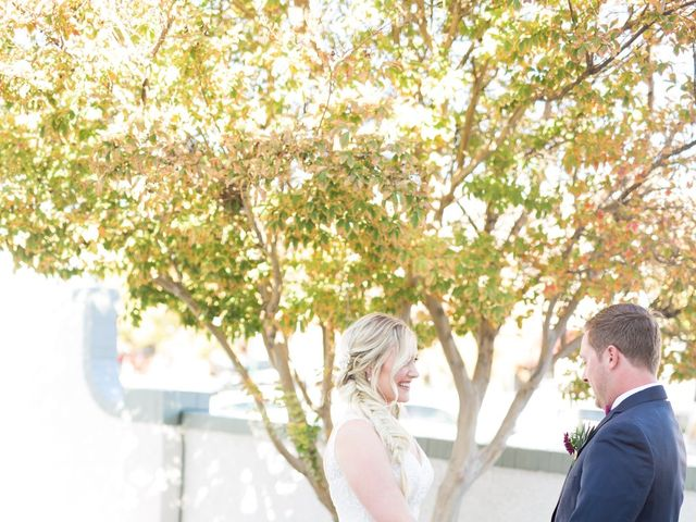 Kyle and Aly's Wedding in Boulder City, Nevada 12