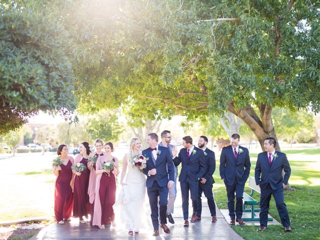 Kyle and Aly's Wedding in Boulder City, Nevada 1